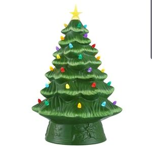 "16"" Mr. Christmas vintage style ceramic tree led"